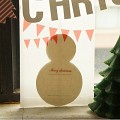 CHRISTMAS CARD _snowman 