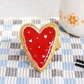 resin napkin holder Cookie finish-heart(예쁜 냅킨 홀더)