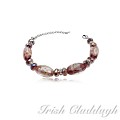 [IRISH CLADDAGH] BRACELETS Murano Glass FNW0657