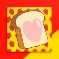 희희점빵 더블딸기 식빵 메모지