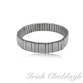 [IRISH CLADDAGH] BANGLES EXPANSION Steel FNW0226