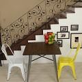 [썸바이썸] 빈티지 철재의자 (유광)6color