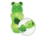 동물원 빨대 물병 350ml 그린 유아동용 휴대용 물통