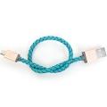 Plusus LifeStar Micro USB Cable Cross Turquoise 25cm