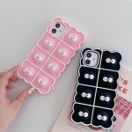 아이폰 xr xs se2 7 8 귀여운 먼지 실리콘 팝잇케이스