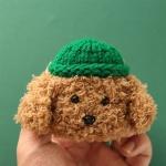 에어팟프로케이스 3세대 니트 뜨개질 273 초록갈색pro