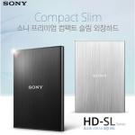 소니 외장하드 HD-SL1 1TB 슬림 외장하드