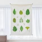 식물 일러스트 패브릭 포스터 / 가리개 커튼
