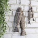[CONZ] 나무 물고기 장식 대