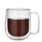 [로하티]감성 이중유리컵 / 홈카페 커피 주스잔