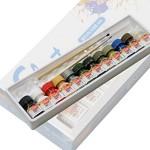 무광 에나멜칼라 12색세트 프라모델 전용물감