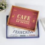 프랑스 빈티지 사각 트레이