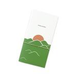 Travel journal_sunset green