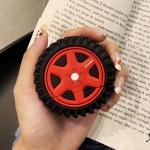 에어팟케이스 1/2세대 타이어 캐릭터 실리콘 334 레드