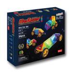 맥포머스 호환 34pcs 맥킨더 자석블럭 클릭블럭 - 미니카 세트