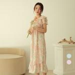 [쿠비카]우아한 무드 쉬폰 원피스 여성잠옷 W734