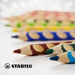 [스타빌로]이지컬러 색연필 12C세트 (샤프너포함)
