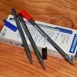 [STAEDTLER] 0.3mm 얇은 삼각 수성펜-독일 스테들러 트리플러스 화인라이너 334 1다스(10자루)