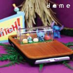 미니돔 스티치와 스크럼프 우드케이스 아이폰 X 7 8 7+ 8+