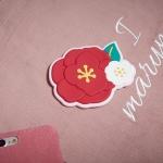 마리몬드 소프트 포켓 미러_동백(핑크)
