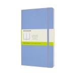 몰스킨 클래식노트-플레인/하이드레인저 블루-소프트 L