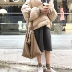 비엔나 따뜻 겨울 양털 숄더백 겨울가방 데일리백