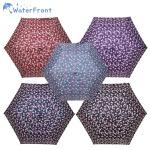 워터프론트 초경량 수동 접이식 벚꽃 3단 UV양산