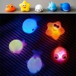 [무료배송] LED 물고기친구들 목욕놀이 장난감 5종세트
