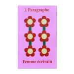 1 Paragraph Ecrire Femme-Pink