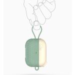 에어팟프로 3세대 엑스 논슬립 실리콘 고리 줄 케이스