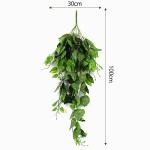초록 잎사귀 조화 넝쿨(스킨) (1M)