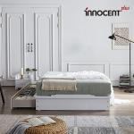 [이노센트] 리브 플로잉 큰서랍 침대 Q/K