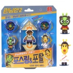 오로라월드 런닝맨 피규어세트1 리우롱키세트 장난감