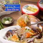[동의비첩 특제소스] 황금마늘 간장 꽃게장 1kg