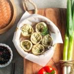 채식웰빙 우리밀 야채손만두 2.8kg(1.4kgx2봉)