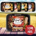 건강 도시락 먹고빼락 한끼 영양만점 5종 10팩 세트 W1B7559