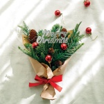 크리스마스 트리 꽃다발