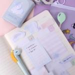 [인디고샵] 꿈꾸는 유니콘 접착 메모 키트