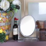 크리스탈 원형 탁상용 양면거울 (대형)