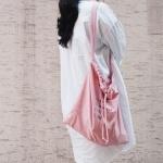 [타이드] 복조리에코백 파우치 SET (핑크)