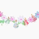 [인디고샵] 왕관 쓴 꽃의 공주 가랜드