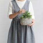 [콩지] 어반 숄더 앞치마