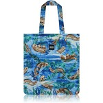 nother Sea Otter Flat Tote Bag / 나더 해달 플랫 토트백