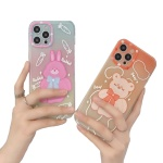 아이폰12 미니 11 pro max 토끼 곰인형 캐릭터 케이스