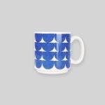 Night sea wave mug