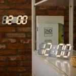 플라이토 3D LED 탁상, 벽시계 시즌3 JS-i02 (LG전구)