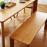 [채우리] 레오 원목 식탁 벤치 의자