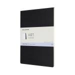 몰스킨 아트컬렉션-스케치 패드/블랙 A4