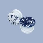 [미미달] 청화백자 그립톡