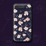 iPhone7,8 - NIGHT POPPY LIGHTING CASE